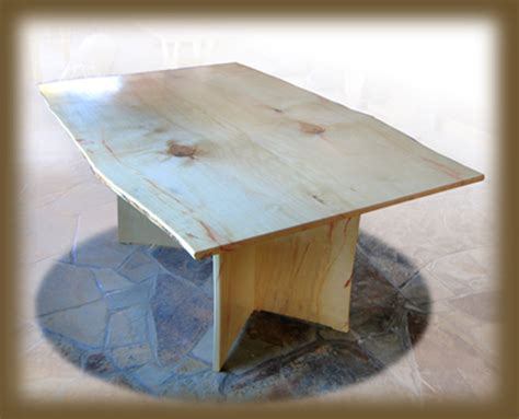 hicks woodworking box elder dining table