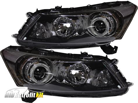 honda accord 2010 hid lights 2008 2012 honda accord sedan led retrofit projector