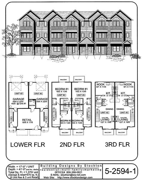 Top Apartment Floor Plans by Living On Top 3rd Floor And Retail Space On Bottom Level