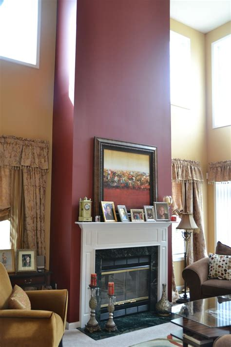 Living Room Accent Wall Fireplace by Accent Wall For Mantel Fireplace Home Furnishings