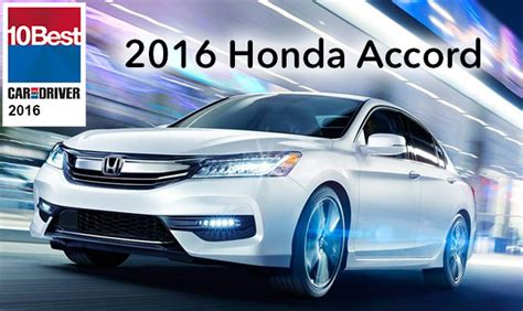 Best Car Award 2016 by 2016 Honda Accord Wins An Unprecedented 30 Out Of 32