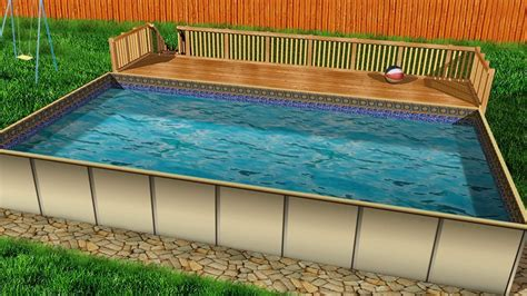 Pool Decks Pre Fabricated Deck Kits