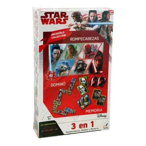 Legión es perfecto para llevar las batallas de star wars a tu mesa de juego, gracias a sus treinta y tres miniaturas sin pintar y muy fáciles de montar, todas las cartas, plantillas de movimiento, marcadores y piezas de terreno que necesitas para el combate. Juego de Mesa Novelty Disney Star Wars 3 en 1   Walmart