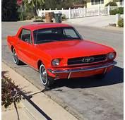 ORIGINAL 19645 Mustang Full Docs 25992 Orig Miles  289