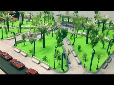 estudiantes de arquitectura elaboran maqueta del parque generale 241 o youtube