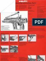 Jack Hammer Hilti Te76 Atc Service Manual C Machines C Mechanical