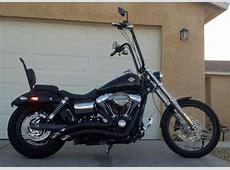 Harley Davidson Street Bob With Sissy Bar - Harley Davidson
