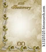 Wedding anniversary Clipart and Stock Illustrations