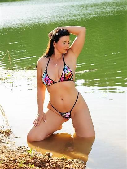 Jungle Bikini Surprise Crotchless Dubio Extreme Micro
