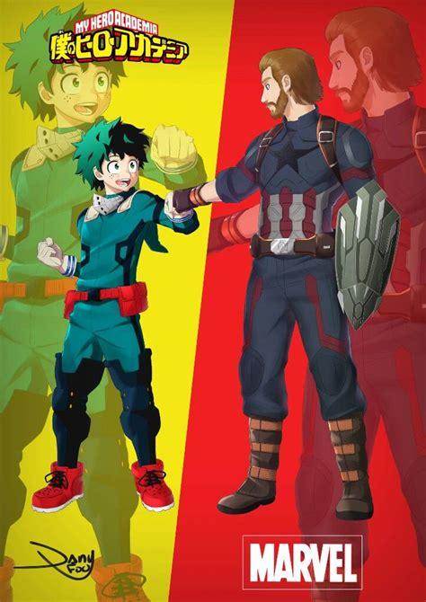 avengers infinity war  hero academia crossover