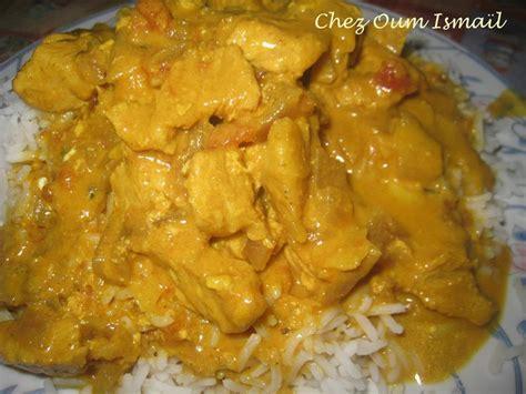 cuisine poulet au curry poulet au curry la cuisine facile de mymy