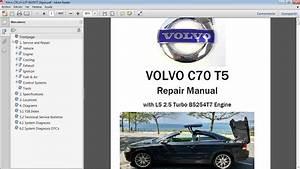 Volvo C70 T5 Workshop Repair Manual