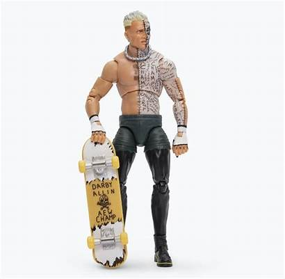 Aew Unrivaled Wave Figures Action Jazwares Darby