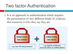 why you should use two factor authentication