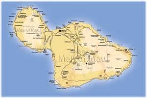 Map of Lahaina Maui