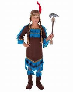 Indianer Kostüm Mädchen : indianer kost m f r m dchen beige pink blau magicoo ~ Frokenaadalensverden.com Haus und Dekorationen
