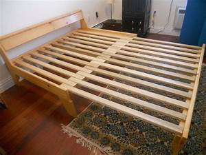 Futon frames queen size bigfroot ideas pinterest for Wooden frame futon sofa bed