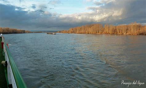 Río Danubio. Atardecer   Paisajes del agua