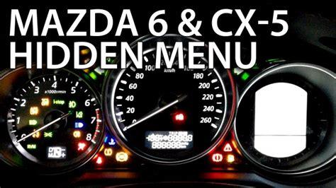 mazda cx 5 check engine light mazda 6 hidden menu test mode mr fix info