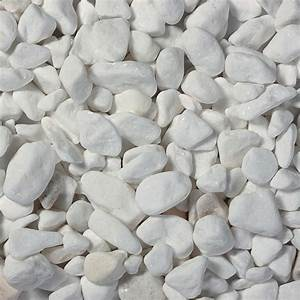 Cailloux Blanc Pas Cher : galet marbre blanc graviers et galet rev tement ~ Dailycaller-alerts.com Idées de Décoration