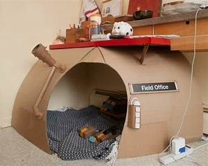 Comment Construire Une Cabane à écureuil : comment fabriquer une cabane en carton tuto et plusieurs mod les ~ Melissatoandfro.com Idées de Décoration
