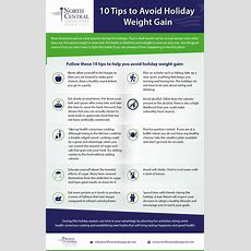 Infographic 10 Tips To Avoid Holiday Weight Gain