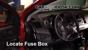 Lancer Fuse Box Location : interior fuse box location 2008 2017 mitsubishi lancer ~ A.2002-acura-tl-radio.info Haus und Dekorationen