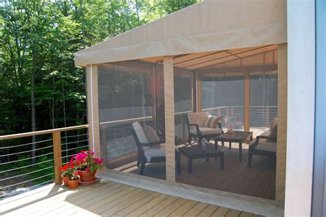 awning  retractable bug screen otter creek awnings