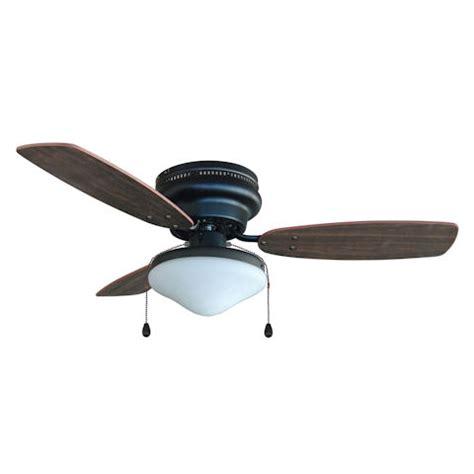 rubbed bronze ceiling fan light kit oil rubbed bronze 42 quot hugger ceiling fan with light kit