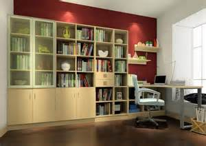 interior design home study interior design of study room with bookcase 3d house
