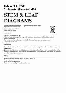 3 Stem And Leaf Diagrams By Mr Burgess