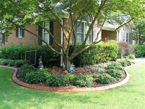 landscaping ideas for front yard of ranch style home