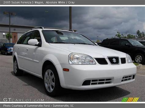 2005 Suzuki Forenza S by Absolute White 2005 Suzuki Forenza S Wagon Gray