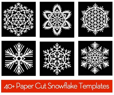 paper snowflake templates curbly