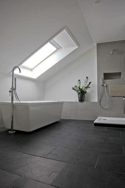 Moderne Badezimmer Fliesen Höhe by Bad Schiefer Fliesen 2 Badezimmer Schiefer Fliesen