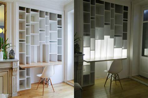 bibliotheque bureau chantier décoration bureau bibliotheque