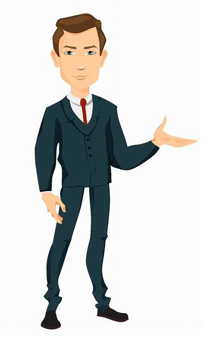 Clipart Suit Animation Transparent Animated Estate Working