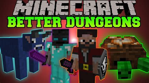 minecraft  dungeons bosses mobs massive dungeons