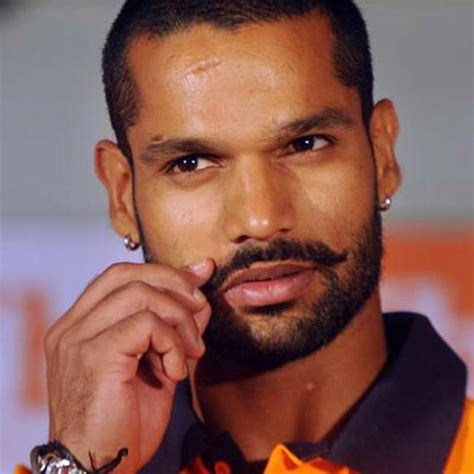 shikhar dhawan hair style shikhar dhawan twirls his moochi and sets the new trend