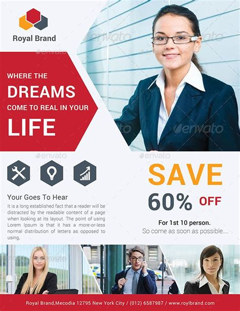 business flyer bundle volume  flyer business volume
