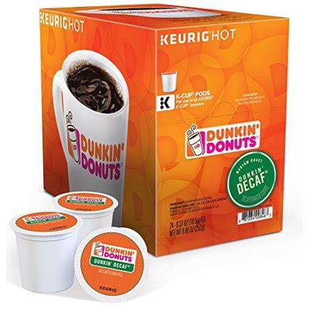 I can't fool him been searching for a cup that's decaf for some time. Dunkin Donuts Dunkin Decaf K-Cups (24 Count) - Walmart.com