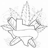 Weed Tattoo Coloring Stencil Pages Smoke Stencils Marijuana Adult Tattoos Designs Drawing Smoking Printable Stoner Bugs Bunny Leaves Tatuajes Aol sketch template