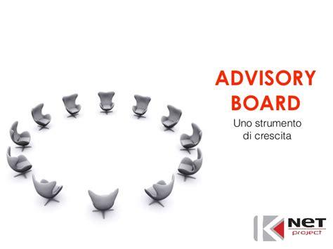 advisory board uno strumento  crescita
