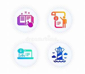 Technical Documentation  Lighthouse And Buildings Icons