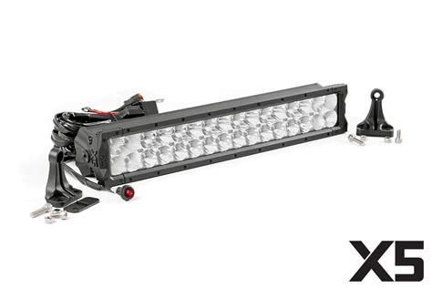20in led light bar grille kit for 2007 2018 jeep wrangler