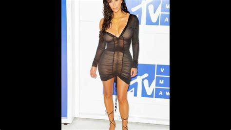 Kim Kardashian Has 'fashion Emergency' In Tiny Bra Top