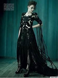 Kristen Stewart For Vogue Italia: High Fashion Goth ...