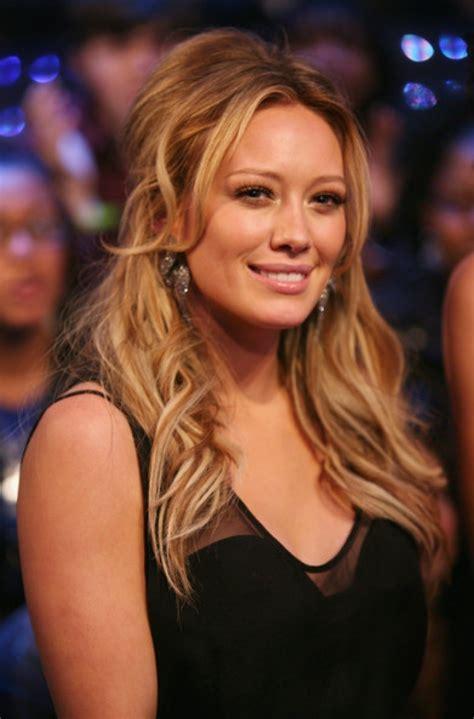 Hilary Duff Hair Beautiful Half Up Hairstyles Design