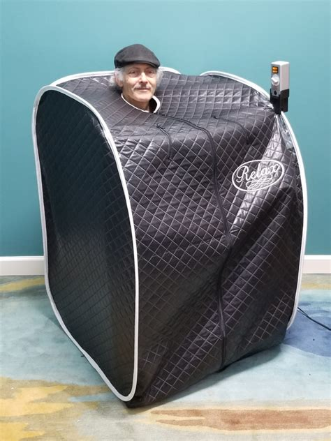 relax far infrared portable personal sauna negative ion