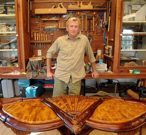 maine rustic furniture maker lets nature   lead  portland press herald maine